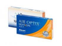 Air Optix Night & Day Aqua (6 sočiva)