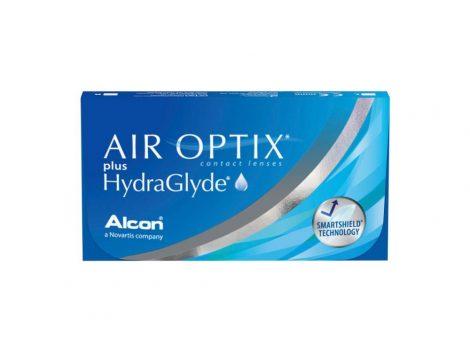 Air Optix Plus HydraGlyde (3 sočiva)